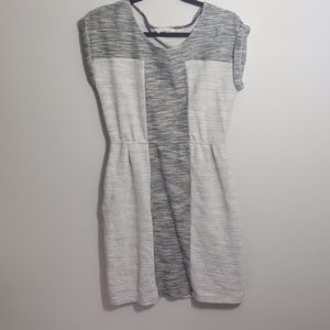 Anthropologie Edme & Esyllte Grey dress w/pockets